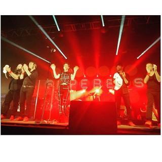 Merci Nantes!!! #lacarriere #superbus #sixtape #tour (Pic @Malikac17)